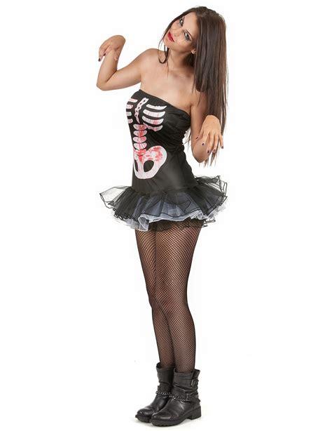 sexy skelett kostuem halloween fuer damen kostueme fuer