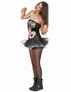 Sexy Skelett Kostm Halloween Fr Damen
