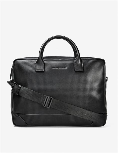Armani Exchange Briefcase by Armani Exchange Perforated Briefcase Bag For A X