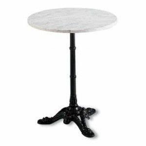Table Ronde En Marbre : table bistrot en marbre ronde mho1092001 projet la ~ Teatrodelosmanantiales.com Idées de Décoration