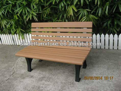 Sonnenschutztextil Aus Recyceltem Kunststoff by Witterungsbest 228 Ndig Aussenbank Recyceltem Kunststoff
