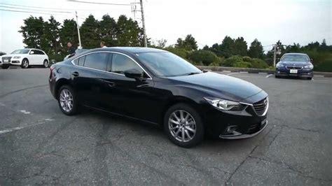 2014 Mazda 6 Atenza Jet Black Mica Rolling Shot