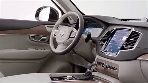 2018 New Volvo Xc90  Interior Youtube