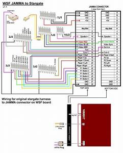 Ms Pac Man Wiring Diagram