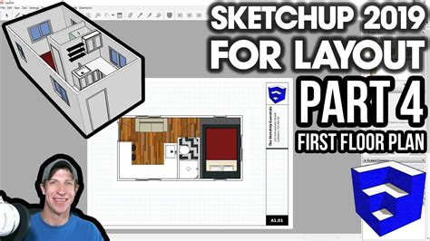 SKETCHUP 2019 FOR LAYOUT Part 4 Creating Your First