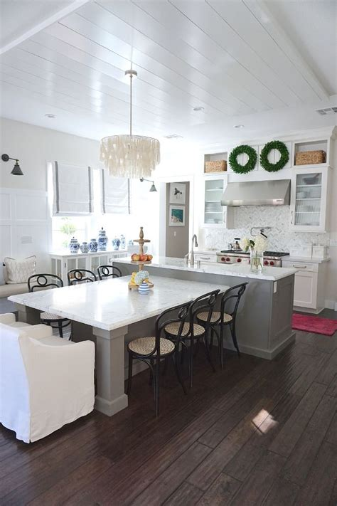 kitchen island with built in table t shaped kitchen island with seating the center island