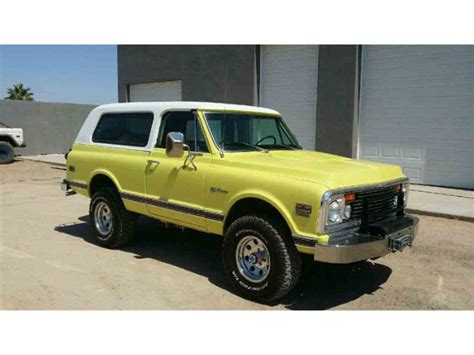 Chevrolet Blazer For Sale by 1972 Chevrolet Blazer For Sale Classiccars Cc 998811