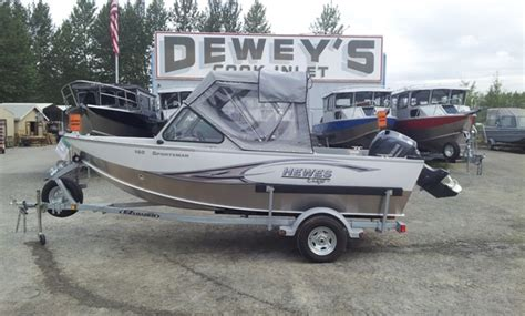 Hewes Craft Boat Parts by Hewescraft 16 Sportsman