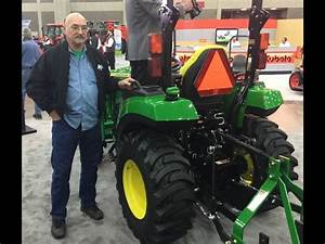 New John Deere 2038r Tractor At The National Farm