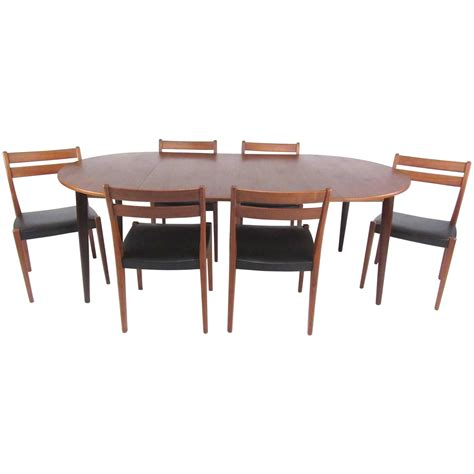 modern table l set 60 mid century modern dining table set mid century modern