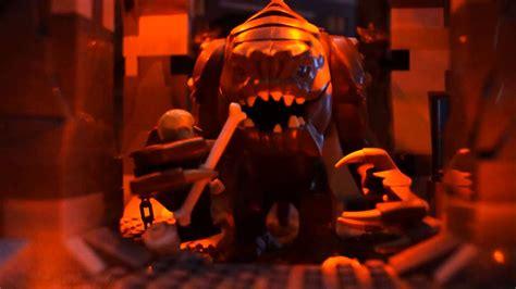 Lego Star Wars Rancor Pit Scene Stop Motion Youtube