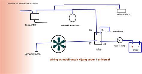 Wiring Diagram Kelistrikan Kijang Super