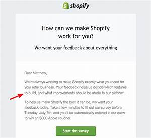 famous customer survey email template ideas example With customer survey email template