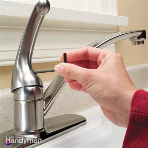 how to fix a faucet kitchen how to repair a single handle kitchen faucet the family