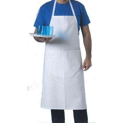 habit de cuisine tablier cuisine blanc