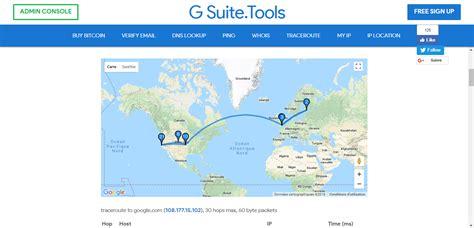 traceroute alternatives pick  gui command
