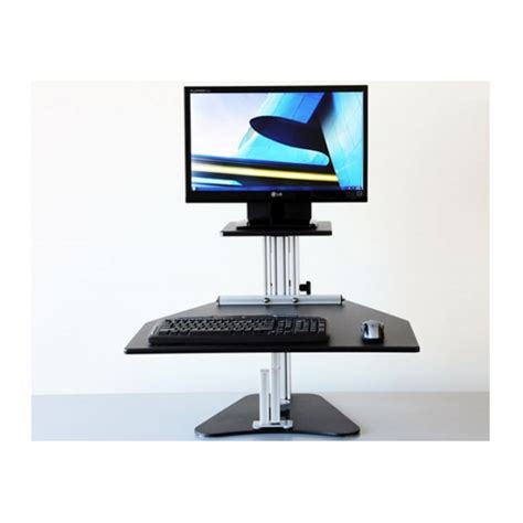 ergo standing desk kangaroo kangaroo sit stand workstation ergonomics now