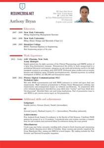best resume format sles for 2016 best resume format resume cv