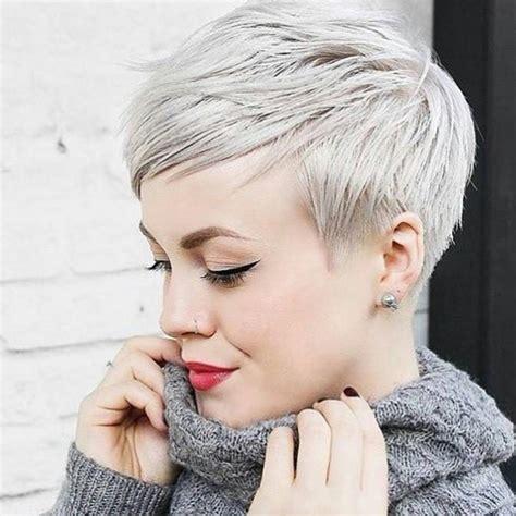 * BAM!  Beautiful Platinum Pixie  Cut by