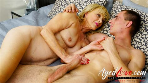 Oldnanny.com - 70 year old granny having sex with young guy