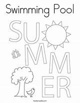 Coloring Swimming Pool Verano Noodle El Ife Est Llego Ya Twistynoodle Built California Usa Twisty Ll sketch template