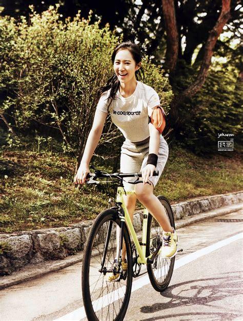 Pin By Noviyanti Sone On Kwon Yu Ri Bicycle Fashion