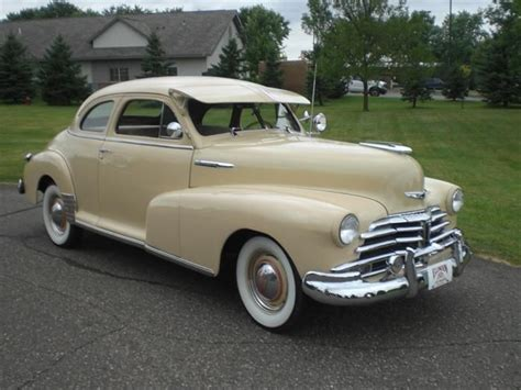 1948 Chevrolet Stylemaster Coupe  Bombitas Pinterest