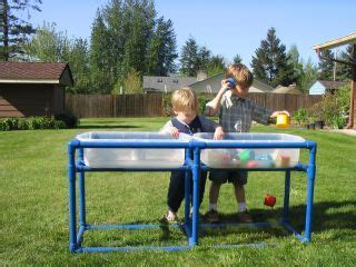 pvc piping sensory water table