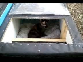 feral cat shelters for winter winter cat shelter house feral cat day