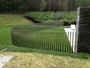 Zaunelemente Aus Metall : edelstahl zaun f r eine schicke au engestaltung ~ Sanjose-hotels-ca.com Haus und Dekorationen