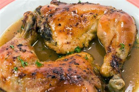 recette cuisine antillaise poulet au four au citron recette antillaise