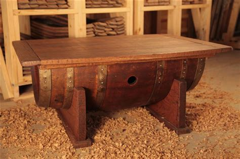 %name Barrel Coffee Table   Gallery ? Click on Images to Enlarge   Glens Wine Barrel Tables