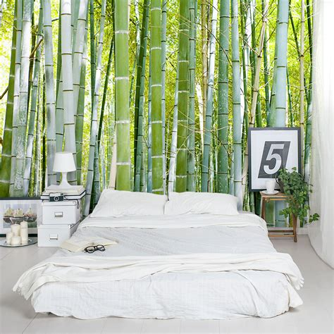 thick bamboo forest wall mural bamboo forest wallpaper