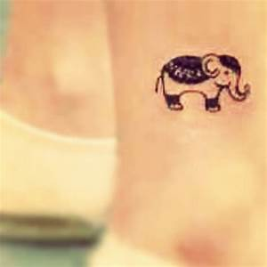 Indie elephant #cute#tinytattoo#minianimals#elephant# ...