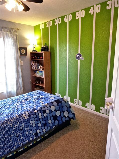 football themed bedroom best 25 football themed rooms ideas on