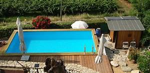 Piscine Enterrée Rectangulaire : piscine bois rectangulaire 6x4 ~ Farleysfitness.com Idées de Décoration
