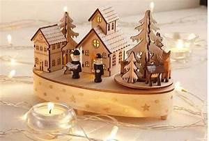 Deko Weihnachten Holz : led spieluhr musik zauber holz weihnachts deko weihnachten beleuchtung neu ebay ~ Frokenaadalensverden.com Haus und Dekorationen