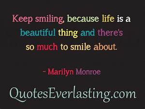 Famous Quotes About Beautiful Smiles. QuotesGram