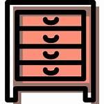 Icons Icon Cajones Drawers Chest Icono Pecho