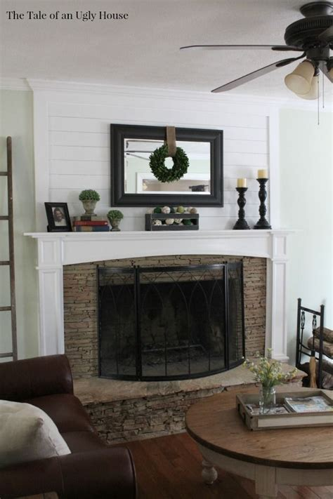 Decorating Ideas Above Fireplace by Adding Ship Above The Fireplace Mantel Adds