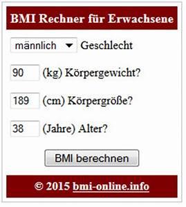 Bmi Berechnen Alter : bmi rechner f r die eigene webseite widget html ~ Themetempest.com Abrechnung
