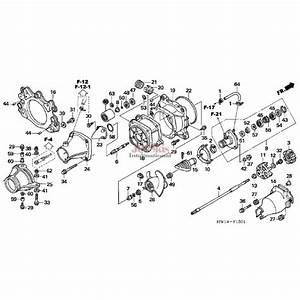 Honda Aquatrax Jet Pump Rebuild Kit For Turbo Models