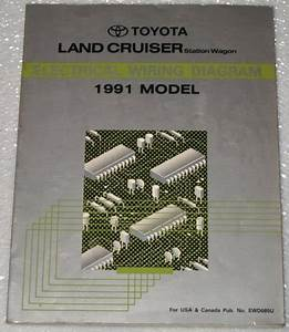 1991 Toyota Land Cruiser Electrical Wiring Diagram  Fj80 Series  Station Wagon