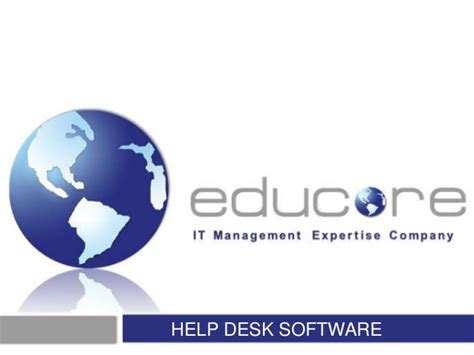 Cites Help Desk U Of I by Manage Engine Help Desk Software Service Desk Plus Sunumu