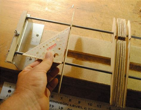 build  wing   wing jig  balsa workbench