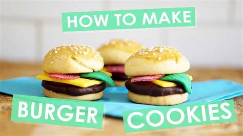 how to make hamburgers how to make burger shortbread cookies nikki mcwilliams
