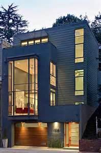 Row House with Garage