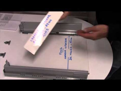 blum tandembox antaro montage tiroir a l 39 anglaise doovi
