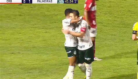 Copa do Brasil: Willian abre o placar em CRB x Palmeiras ...