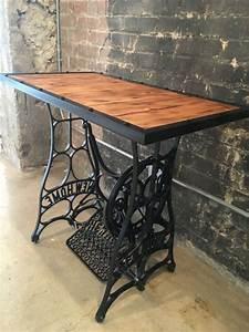 Nähmaschinengestell Als Tisch : die 25 besten ideen zu n hmaschinen tabellen auf pinterest antike n htische antike ~ Buech-reservation.com Haus und Dekorationen